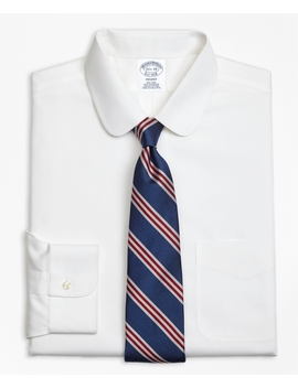 Regent Fitted Dress Shirt, Non Iron Golf Collar by Brooks Brothers