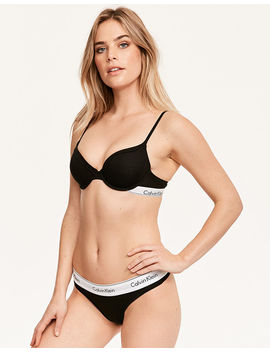Modern Cotton T Shirt Bra by Calvin Klein