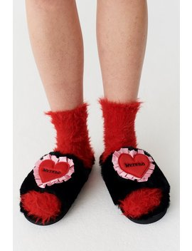 Lazy Oaf Weirdo Slippers by Lazy Oaf