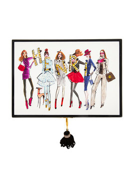 Bendel Line Up Jewelry Box by Henri Bendel