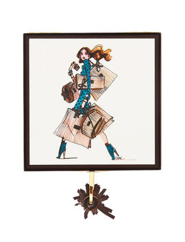 Shopper Girl Small Jewelry Box by Henri Bendel
