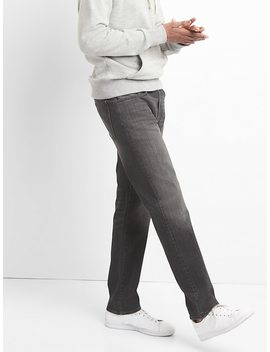 Washwell Jeans In Straight Fit With Gap Flex by Gap