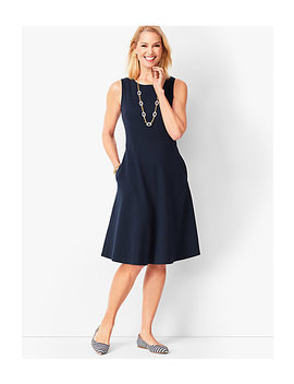 Fit & Flare Knit Dress by Talbots