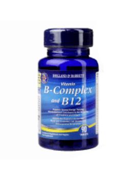 Holland & Barrett B Complex & B12 90 Tablets by Holland & Barrett B Complex & B12 90 Tablets