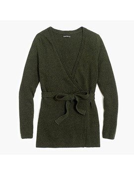 Wrap Cardigan Sweater by J.Crew