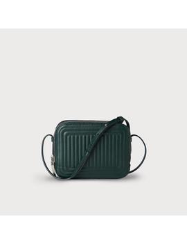 Mariel Green Leather Crossbody by L.K.Bennett