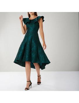 Grace High Low Jacquard Dress by Coast
