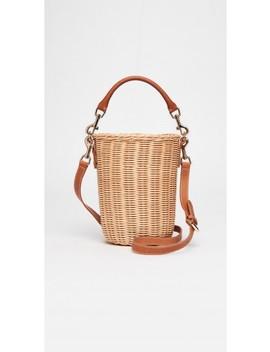 Erin Wicker Bucket Bag by J.Mc Laughlin