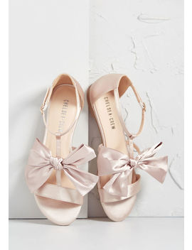 Formally Yours Satin Sandal by Modcloth