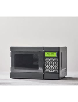 Chrome Microwave Oven by Pottery Barn Kids