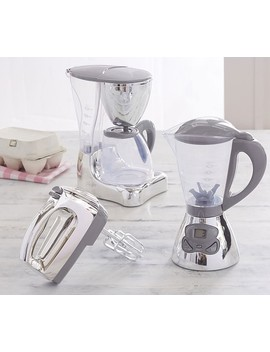 Gray Chrome Kitchen Appliances by Pottery Barn Kids