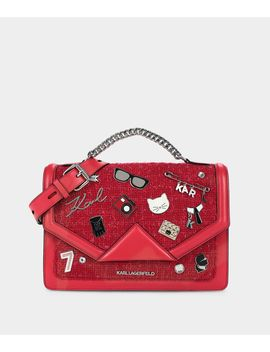 K/Klassik Pins Shoulder Bag by Karl Legerfeld