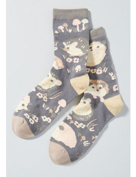 Prickly Buddies Hedgehog Socks by Modcloth