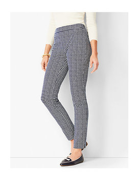 Talbots Chatham Ankle Pants   Geo Print by Talbots