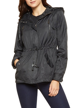Light Weight Hooded Anorak Jacket by Rainbow