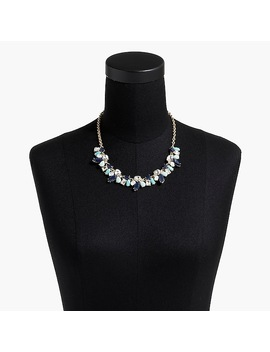 Crystal And Stone Statement Necklace by J.Crew