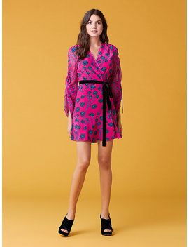 Tamra Shocking Pink Dress by Dvf