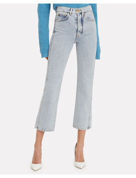 Super High Cali Acid Wash Jeans by Victoria, Victoria Beckham