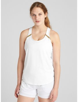 Gap Fit Reflective Detail Tank Top by Gap