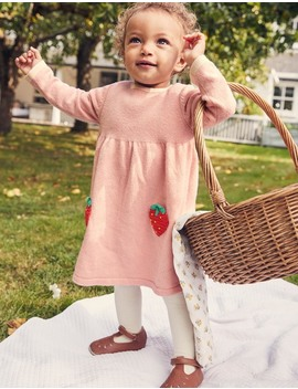 Crochet Strawberry Dress by Boden