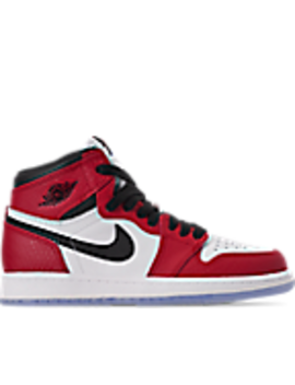 Little Kids' Air Jordan Retro 1 High Og Casual Shoes by Nike