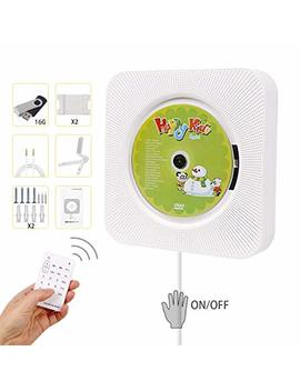 portable-cd-player,-hompie-upgraded-wall-mounted-5-in-1-cd-music-player-hifi-bluetooth-speaker-home-audio-boombox-with-remote-control-usb-drive-aux-in-&-35mm-headphone-jack-with-16g-u-disk,fathers by hompie