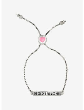 mean-girls-she-doesnt-even-go-here-bracelet by hot-topic