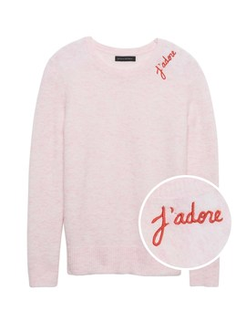 J'adore Sweater by Banana Repbulic