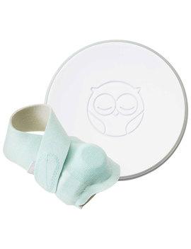 Owlet Smart Sock 2 Baby Monitor (Owl Bm03 Nnbbyc)   White/Green by Best Buy