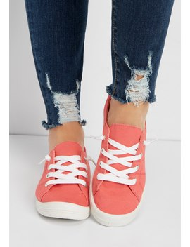 Mariah Lace Up Sneaker by Maurices