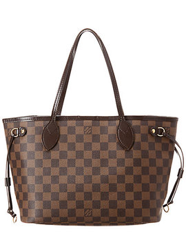 Louis Vuitton Damier Ebene Canvas Neverfull Pm by Louis Vuitton
