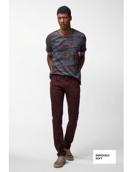 Tyler Slim Fit In Murlow Seriously Soft by J Brand
