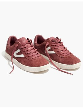 Tretorn® Camden 2 Sneakers In Rose Suede by Madewell