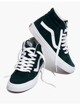 Vans® Unisex Sk8 Hi Reissue High Top Sneakers In Spruce Suede by Madewell