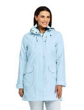 Women's Plus Size Lightweight Squall Raincoat by Lands' End