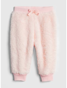Faux Fur Pull On Pants by Gap