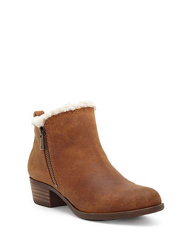 Basel Shearling Bootie by Lucky Brand