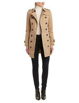 Burberry Sandringham Mid Length Heritage Trench Coat by Burberry