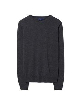 Gant Merino Wool Crew Sweater by Gant