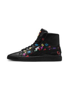 Puma X Bradley Theodore Mid Basket Shoes by Puma