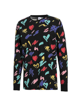 Puma X Bradley Theodore Long Sleeve Men's Aop Tee by Puma