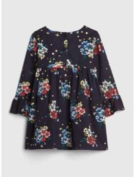 Floral Empire Waist Dress by Gap