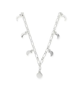 Lunar Phase Adjustable Necklace by Alex And Ani