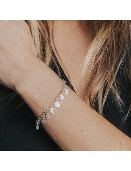 Lunar Phase Pull Chain Bracelet by Alex And Ani