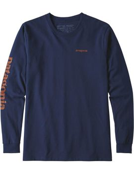 Patagonia Men's Text Logo Responsibili Tee Long Sleeve Shirt by Patagonia