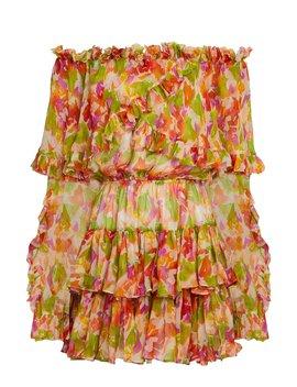 Dahila Off Shoulder Mini Dress by Caroline Constas