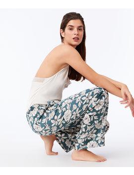 Pantalon Large Imprimé Floral   Gloria by Etam