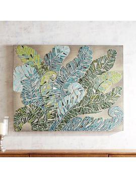 Swirly Ferns Mosaic Wall Panel by Pier1 Imports