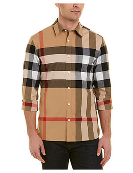 Burberry Check Woven Shirt by Burberry