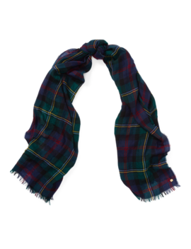 Plaid Blanket Wrap by Ralph Lauren